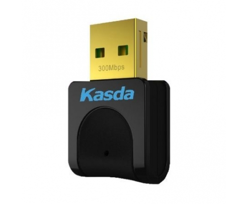 ADAPTADOR RED KASDA KW5312 WIFI USB 2.0 NEGRO KW5312