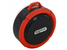 ALTAVOZ APPROX BLUETOOTH WATERPROOF ROJO APPSPWPBR