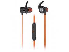 AURICULARES CREATIVE LABS OUTLIER SPORTS BINAURALE BLUETOOTH NARANJA 5...