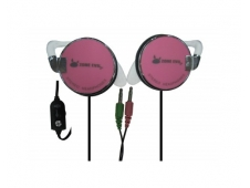 AURICULARES DEPORTIVOS ZONE EVIL MICROFONO XPORT ZE-XPORT-PINK
