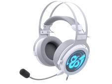 Auriculares Gaming Newskill Kimera V2 Ivory 7.1 Compatibles con PC y PS4 en Color Blanco - NS-HS-KIMERA-V2-IVO