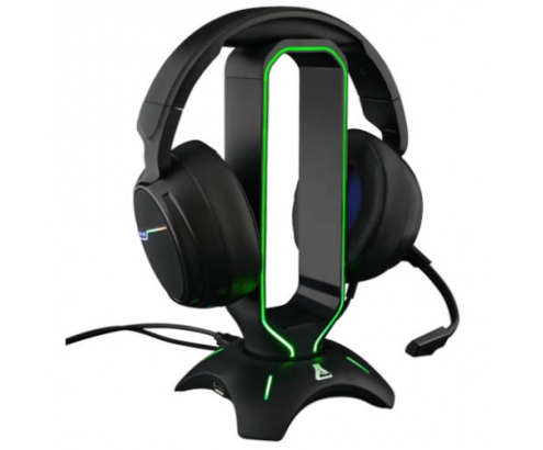 AURICULARES GAMING THE G-LAB UNIVERSAL RETROILUMINADO USB NEGRO K-STA...