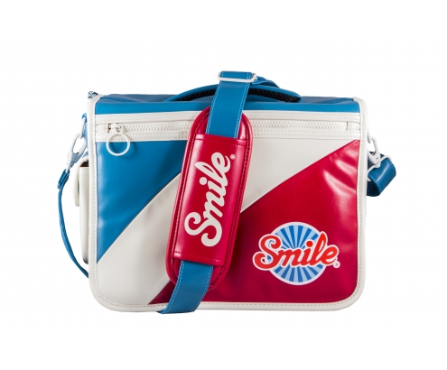 bandolera camara smile one bag m retro mod azul rojo blanco 16513
