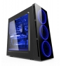 CAJA TORRE GAMING ZE 906 CON LED AZUL ZE-906BL