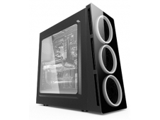 CAJA TORRE GAMING ZE 906 CON LED BLANCO ZE-906W