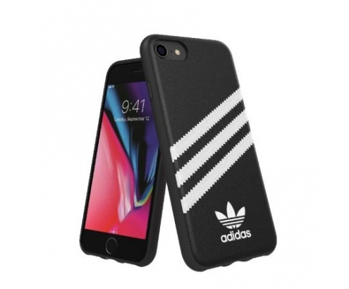CARCASA ADIDAS MOULDED CASE PU FW 18 COMPATIBLE CON IPHONE 6 6S 7 8 NE...