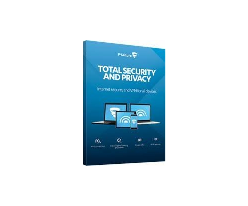 F-Secure Total Security & Privacy 3-Devices 2 year FCFTBR2N003E2