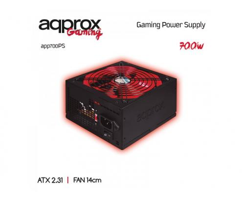 FUENTE ALIMENTACION APPROX GAMING 700W APP700PS