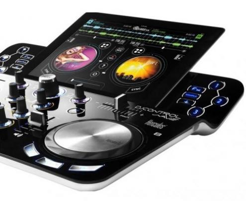 mesa de mezclas hercules dj control wave para ipad 4780754