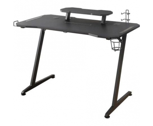 MESA GAMING WOXTER STINGER DESK ELITE PATAS DE ACERO TABLERO DISEÑO C...