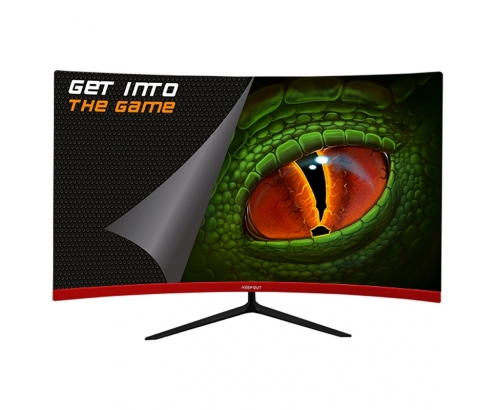 MONITOR KEEP OUT XGM27C+ 27P FHD CURVO GAMING NEGRO XGM27C+