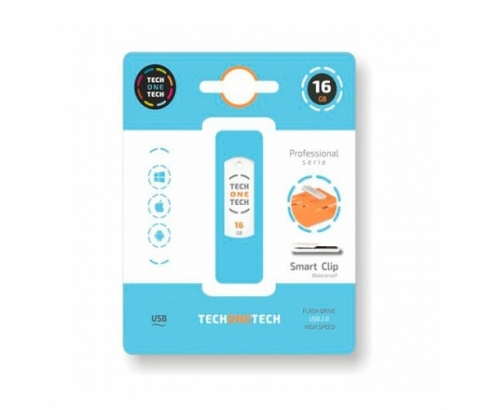 PENDRIVE TECH ONE TECH SMART CLIP 16GB TEC3004-16