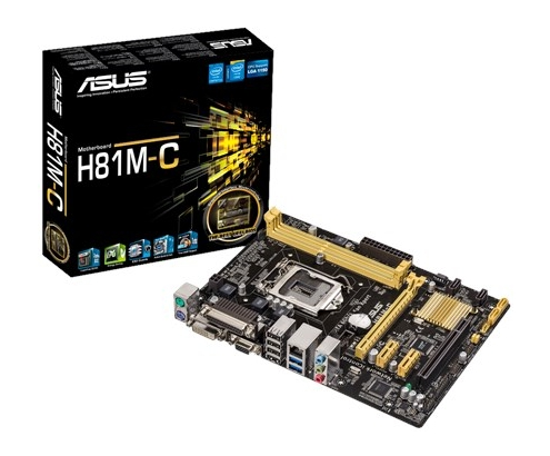 PLACA BASE ASUS 1150 H81M-C 90MB0GT0-M0EAY0