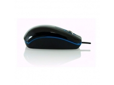 RATON OPTICO 3GO DINAMIC 1200DPI USB 2.0 PVC BRILLO COLOR NEGRO AZUL MDINBKB
