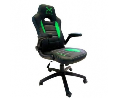 Silla gaming droxio troun value negra verde TROUNVALUE