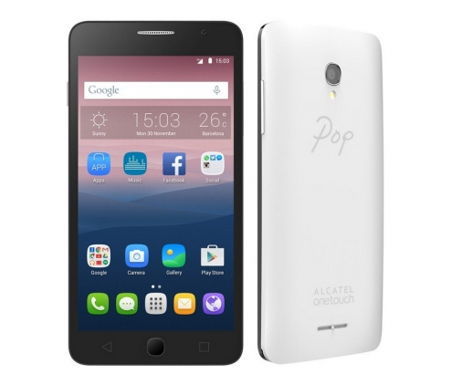 SMARTPHONE ALCATEL POP STAR 5 QC 1GB 8GB BLANCO COLOR PACK 5022D-2AALE...