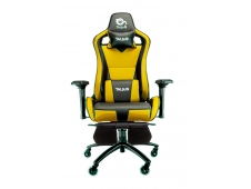 Talius silla Caiman gaming black/yellow