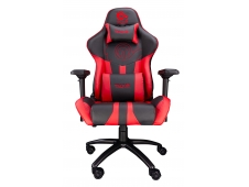 TALIUS Silla Viper Gaming Black/Red, 4D, Butterfly, Base Metal, Ruedas...