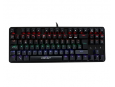 TECLADO MECANICO KEEP OUT F105 RETROILUMINACION RGB USB
