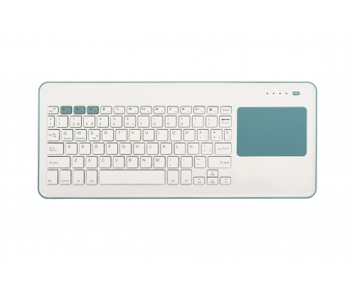 TOUCHPAD WIRELESS KB SILVER HT WHITE + BLUE 111943040199